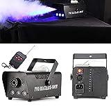 DiLiBee RGB Rauch Nebel Maschine LED Licht mit Fernbedienung IP20 Club Disco DJ Effekt Bühne Party Nebel Rauch Smoke Fog Effekt Club 500 Watt