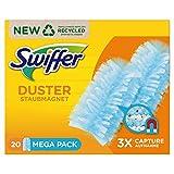 Swiffer Staubmagnet (20 Tücher) Staubwedel ideal gegen Staub, Tierhaare & Allergene