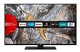 JVC LT-43V65LUA 109 cm / 43 Zoll Fernseher (Smart TV inkl. Prime Video / Netflix / YouTube, 4K UHD mit Dolby Vision HDR / HDR 10 + HLG, Triple Tuner)