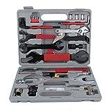 Ejoyous Fahrrad Werkzeugkoffer Werkzeug Set 44 Stück Bike Repair Tools Set Kit Multi-Funktionalität mit Box für alle Fahrradtypen