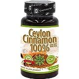 Cvetita Herbal ZIMT Ceylon Cinnamon, Antioxidantien, verbessern Verdauung und Stoffwechsel, reduziert Appetit und Gewichtsverlust (80 kapseln)