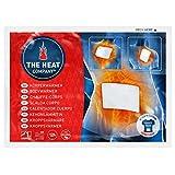 THE HEAT COMPANY Bodywärmer - EXTRA WARM - klebend - Körperwärmer - Rückenwärmer - 12 Stunden wohlige Wärme - sofort einsatzbereit - luftaktiviert - rein natürlich - 10 Stück