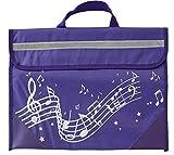 Musicwear - Pentagramma Borsa - Purple