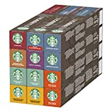 STARBUCKS by NESPRESSO Kaffeekapseln Probierset (8 Varianten), 120 Kapseln (12 x 10)