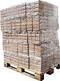 1000kg Holzbriketts RUF Hartholz Briketts Kamin Ofen Brikett Brennholz Heizbrikett aus reiner Eiche 100 x 10kg / 1000kg Palette RUF Brikett Eckig (ENERGIE KIENBACHER BRENNHOLZ, BRIKETTS & CO.)
