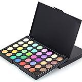 Sayla Lidschatten Palette Kosmetische Matte Lidschatten Creme Lidschatten Make-up Palette Shimmer Set 40 Farbe (B)