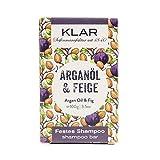 Klar's - Bar Shampoo - Arganöl & Feige - festes Shampoo - für trockenes Haar