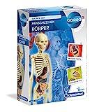 Clementoni 69489 Galileo Science – Der menschliche Körper Mini-Set, Experimentierkasten für Kinder ab 8 Jahren, Spielzeug zum Verstehen von Anatomie, Organen & Skelett