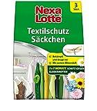 Nexa Lotte Textilschutz Säckchen mit Blütenduft, Mottenbekämpfung, Bekämpft und schützt in allen Räumen für 3 Monate, 3 Kissen
