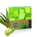 Panu Duschseife – Aloe Vera Naturseife - Körperseife für jeden Hauttyp (1x 110g)