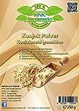 Konjak Pulver (Konjakmehl) gemahlen 250 g - Abnehmen - natürliche Unterstützung bei Diäten - Verdickungsmittel zum Backen und Kochen