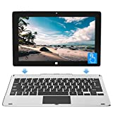 Jumper 11,6 Zoll Touchscreen Notebook 2-in-1Tablet Windows 10 Laptop, 6 GB RAM 64 GB ROM, MicroSD Slot, erweiterbar bis zu 128GB, Tablet abnehmbare Tastatur, Mini-HD, Bluetooth, USB3.0, WLAN