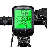 otumixx Fahrradcomputer Kabellos 29 Funktionen Wasserdicht Fahrradtacho Radcomputer Drahtlos Tachometer Fahrrad LCD Backlight Radcomputer Wireless Kilometerzähler für Rennrad Mountainbike
