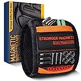 Geschenke für Männer Magnetarmband für Handwerker Werkzeug - NEU2020 Magnetisches Armband mit 15 Starken Magneten, Adventskalender zum Befüllen Männer, Weihnachtsgeschenke für Papa Ehemann Gadgets