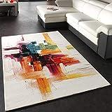 Paco Home Teppich Modern Splash Designer Teppich Bunt Brush Neu OVP, Grösse:120x170 cm
