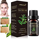 Teebaumöl,Akne Öl,Acne Serum,Anti-Akne-Behandlung,Ideal Gegen Unreine Haut,Anti Pickel,Gegen Akne,Entzündungshemmend,Antibakteriell, Hautsympathisch