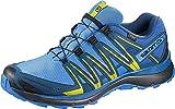 Salomon Herren Trail Running Schuhe, XA LITE GTX, Farbe: blau/lime (Indigo Bunting/Snorkel Blue/Sulphur Spring) Größe: EU 44 2/3