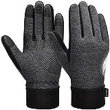 VBIGER Handschuhe Herren Winterhandschuhe Damen Winter Warme Fleece Innenfutter Touchscreen Handschuhe für Sport Outdoor Motorrad Laufen Radfahren Mountainbike