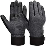 VBIGER Handschuhe Herren Winterhandschuhe Damen Winter Warme Fleece Innenfutter Touchscreen Handschuhe für Sport Outdoor Motorrad Laufen Radfahren Mountainbike…