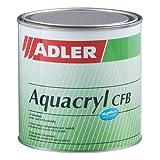 Aqua-Cryl CFB G100 125ml Glänzend Farblos Wasserbasierter, sehr beständiger, farbloser Holzlack - Klarlack für Holz im Innenbereich