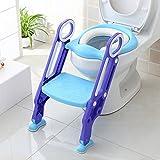 Bamny Toilettensitz kinder mit treppe, Töpfchentrainer, WC Trainer, Kinder-Töpfchen mit Leiter 38-42cm