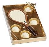 11#062121 Schokoladen Tennis Set, Tennis, Tennisspieler, Muttertag, Geburtstag, Geschenke, Geschenk, NEU