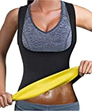 Bingrong Frauen Fitness figurformend Unterbrust Taillenmieder Bauchweg ,Schwarz,XL