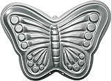Birkmann RBV, 211308, Motivbackform Schmetterling, 32,5 x 23,5 cm, mit Antihaftbeschichtung, Karbonstahl