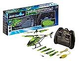 Revell Control 23940 RC Helicopter Glowee 2.0, 2.4GHz, einfach zu fliegen, Gyro, LED-Glow-in-the-Dark Effekte, Akku, ferngesteuerter Hubschrauber, grün, 25cm