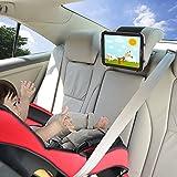 Auto Halterung TFY Auto Kopfstützen Halterung mit Silikon Haltenetz Kompatibel mit 4,5-6 Zoll Handys und 7-10,5 Zoll Tablets