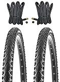 KENDA 2 x MTB Reifen Fahrradreifen 24 Zoll 47-507 24 x 1.75 inklusive 2 x Schlauch mit Autoventil