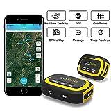 goTele GPS Tracker, Wander & Outdoor GPS-Geräte Jagd GPS Kinder und Haustiere Tracker Real-Time Tracking SOS Geo-Zaun Kein erforderliches Netzwerk-Echtzeit-Tracking-Gerät (2 Pack)