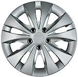 Cartrend 70278 Radzierblenden Storm   Alufelgen-Optik Silber, 4-teilig, 38,1 cm (54 Zoll) 4er Set