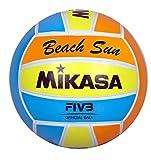 Mikasa Ball Beach Sun, Orange/Hellblau/Gelb, 5, 1632