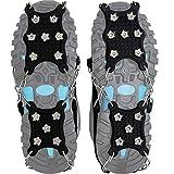 Steigeisen Schuhspikes mit 12 Noppen,Das einzig Innovative Design bei Amazon,Ice Klampen,Eisspikes für Den Stiefel,Schuhkralle.(Medium)