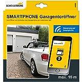 Schellenberg 60999 Garagentoröffner und Außentoröffner für Smartphone: Funk-Empfangs-Modul & kostenlose App, Garagentor per Handy öffnen