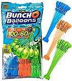 SHS-Yard ZURU Bunch O Balloons - 105 Stück / 100 in 60 Sekunden / selbstschließend / WASSERBALLONS / 3 Bündel á 35 Wasserbomben / Water Balloons Seal / SELF Seal / Mixed