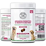 C&G Pets | Digestive Remedies 60 Chews | Gastrointestinal Tract & Anal Sac Support | Natural Probiotics & Digestive Enzymes (ADV Digestive Pro Sup)