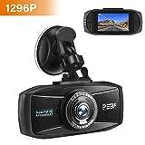 Dashcam 1296p Super Full HD Nachtsicht G-Sensor Autokamera DVR Camcorder 2.7 Zoll LCD-Bildschirm Loop-Aufnahme Auto Dash Camera WDR Bewegungserkennung Parkmonitor PEBA