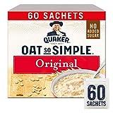 Quaker - Hafer 'Oats So Simple' Original Mikrowellentauglich 27g Beutel X 60 Stück