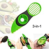 3 in 1 Obstschäler Avocadoschneider Avocado-Schneider Obst- und Gemüseschäler Küchenwerkzeug