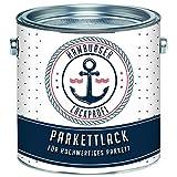 Parkettlack SEIDENMATT farblos Parkettsiegel Treppenlack Holzlack klar // Hamburger Lack-Profi (2,5 L)