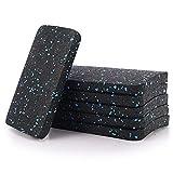 N/N Laufband-Fußmatte, 11,9 x 8,9 x 1,2 cm Laufbandmatte, Ausrüstungsmatte für hochdichtes Gummi, schützt den Boden.