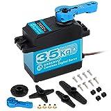 Innovateking-EU 35KG Digital Servo Full Metal Gear High Torque Wasserdicht DS3235 mit 25T Servo Arm für RC Auto Roboter Steuerwinkel 180