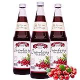 12 x 0,7l Cranberrysaft (100% Direktsaft) - Original Satower