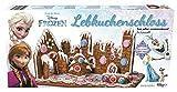 Disney Frozen Lebkuchenhaus Eiskönigin Olaf Schloß Bastelset mit 2 original Bullyland Disney Figuren