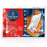 THE HEAT COMPANY Multiwärmer Wärmepads - 10 Stück - EXTRA WARM - Transportwärmer ohne Klebefläche - Körperwärmer - 20 Stunden verlässliche Wärme - luftaktiviert - rein natürlich
