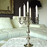 Dekowelten Kerzenleuchter 50cm, 5-flammig,Kerzenständer Big
