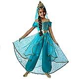 Pettigirl Mädchen Prinzessin verkleiden Sich Kostüm Cosplay Party mit Krone Schleier