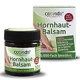 Cosvida Cosmetics Fußpflege Hornhautbalsam - Hornhautsalbe - 100.000 Fach bewährt - Hornhautreduzierung - Hornhautentfernung - 30ml
